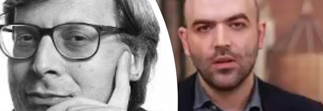 Vittorio Sgarbi choc: «La scorta a Saviano? Proteggiamo chi si uccide per le tasse, non lui...»