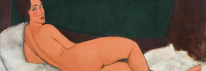 Nudo di Modigliani venduto per 157,2 milioni di dollari: l'opera fu definita oscena