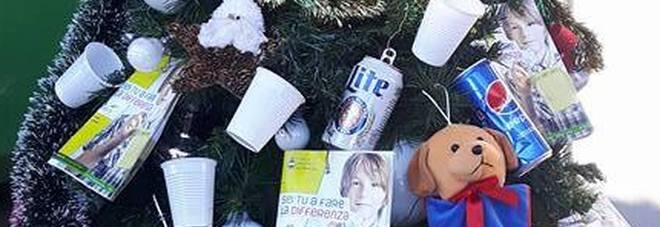 albero natalizio ecologico