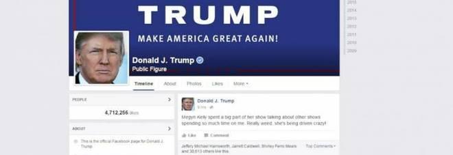 Facebook sospende società collegata alla campagna di Trump