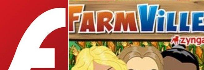Addio a FarmVille su Facebook, con la fine di Flash Player il popolare gioco non funzionerà più