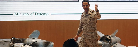 Arabia Saudita: «I missili cruise lanciati dall'Iran. Ecco le prove»