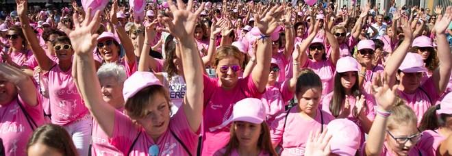 Lotta ai tumori, l'onda rosa invade l'Irpinia