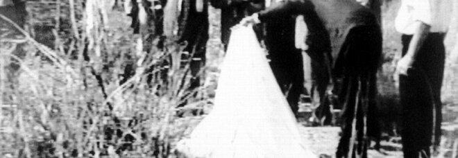 Il delitto del giudice Rosario Livatino. 21 settembre 1990. Sotto, un ritratto del giudice Rosario Livatino