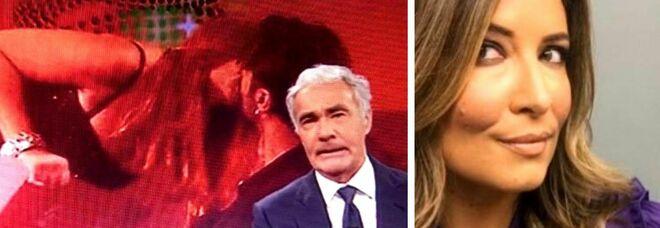 Corona, Selvaggia Lucarelli: «Giletti replica alla mia critica con la foto di un bacio, che bassezza»