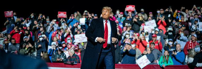 Usa 2020, Trump tiene nuovo comizio in Pennsylvania: altro giro, altro bagno di folla