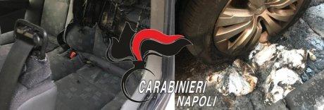 Incendia rifiuti e prende a pugni i carabinieri, arrestato 51enne