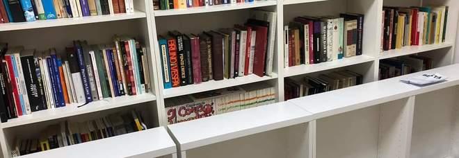 Una delle aree della biblioteca sociale