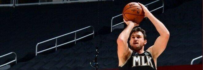 Nba, Gallinari trascina gli Hawks alla vittoria con Phoenix: bene Jazz e Nuggets. I risultati