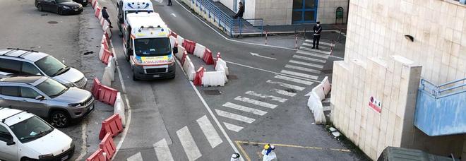 Covid ad Avellino, Moscati senza tregua salgono i ricoveri in Terapia intensiva