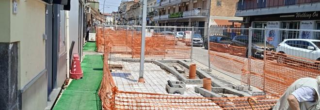 Camorra ad Acerra, ditta sospesa lavori fermi e città in tilt