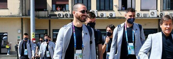 Italia-Inghiletrra, il Covid nell hotel azzurro: infettato telecronista Rai. «Giocatori tutti negativi»