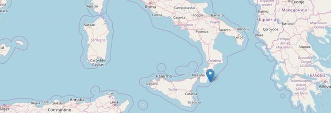 Terremoto, due scosse nella notte al largo di Reggio Calabria. Trema anche Norcia