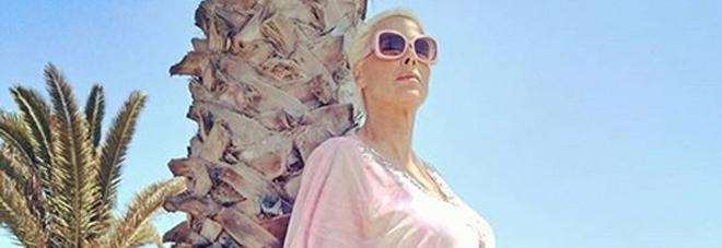 Brigitte Nielsen incinta