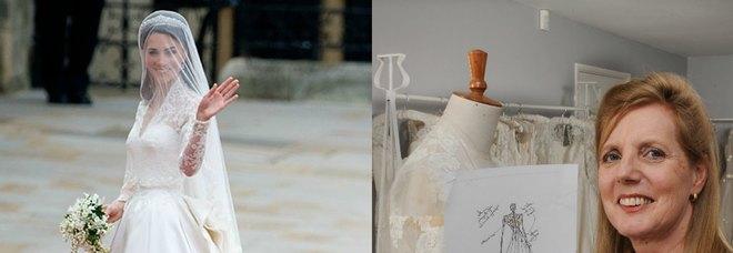 4a31724b0a L'abito da sposa di Kate copiato dai miei disegni»: stilista fa ...