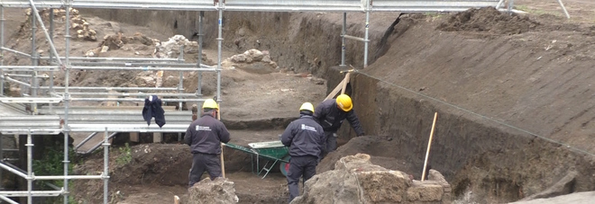 Nuovo scavo a Pompei
