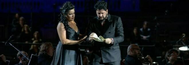 Anna Netrebko e il marito tenore Yusif Eyvazov