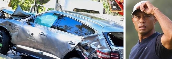 Tiger Woods, incidente causato «dall'alta velocità»: in curva a 120 km/h (invece che 70)