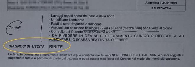 Neonato muore dopo visita in ospedale a Torino. I genitori: «Gli hanno prescritto  l'aerosol e l'hanno dimesso»
