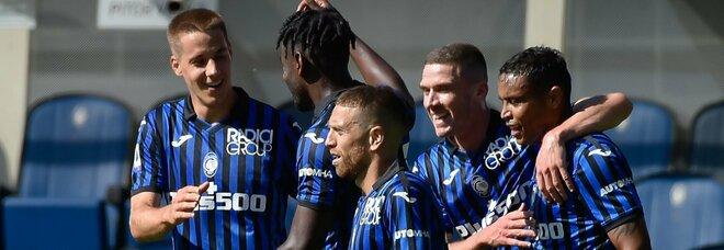 L'Atalanta demolisce il Cagliari: 5-2 e Gasp a punteggio pieno