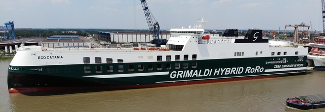 Eco Catania, il gruppo Grimaldi vara un nuovo gigante green