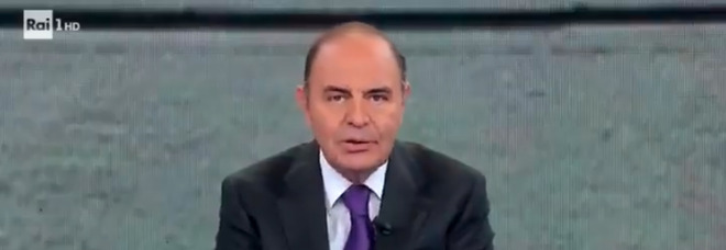 Bruno Vespa furioso contro Amadeus, lo sfogo in diretta all'una di notte VIDEO