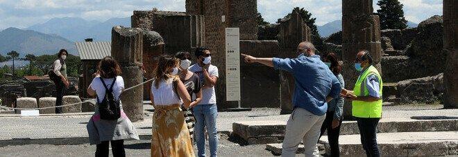 Covid negli Scavi di Pompei: un vigilante contagiato e due casi sospetti