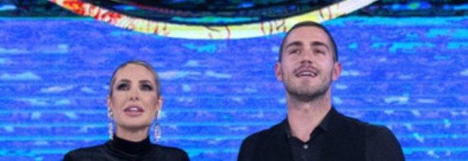 Tommaso Zorzi e Ilary Blasi all'Isola dei Famosi 2021