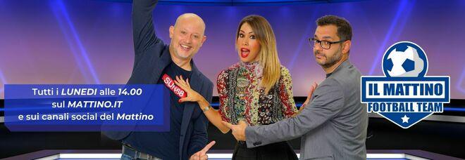Il Mattino Football Team live: tornano Claudia Mercurio & friends