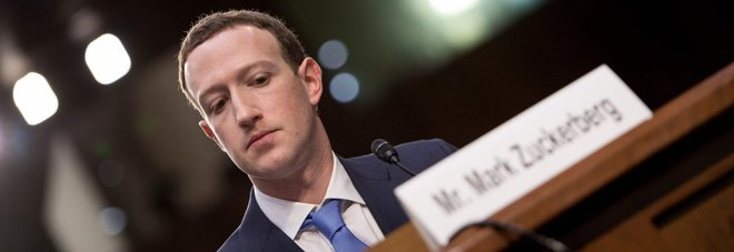 Mark Zuckerberg al Congresso Usa