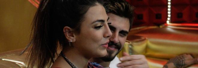 Grande Fratello Vip 2018, sorpresa per Francesco Monte e Giulia Salemi: «Una notte per noi, sei come un tornado» (foto Endemol)