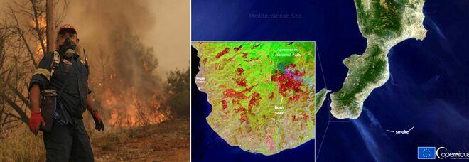 Incendi Calabria, morto anziano: cercava di spegnere le fiamme. Algeria, 65 vittime