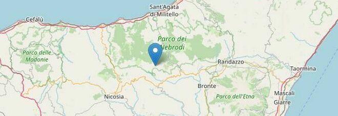 Terremoto, Sicilia: scosse nella notte, la più forte di 3.4: epicentro in provincia di Enna