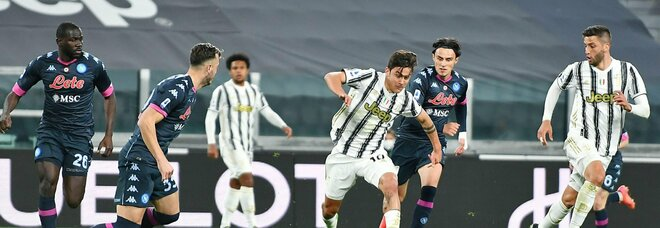 Juve-Napoli, Mertens è impreciso e Fabian va a corrente alternata