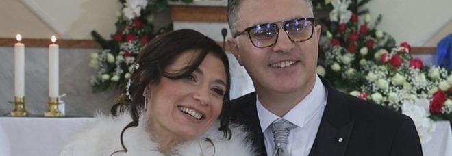 Il «sì» di Tonia e Giuseppe con gli invitati in streaming