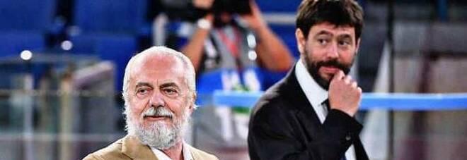 Juve-Napoli, scrive De Laurentiis: «Ce la giocheremo fino alla fine»