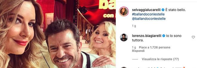 Selvaggia Lucarelli posta foto con Conticini: «È stato bello». Ma il fidanzato commenta così