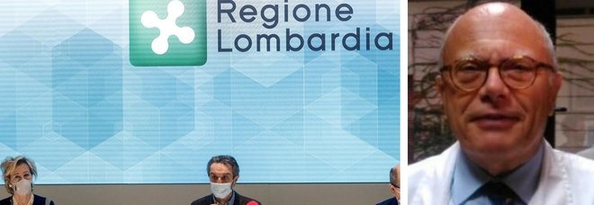 Lombardia, scontro sui dati Rt. Galli: «Mi cadono le braccia, questo è masochismo»