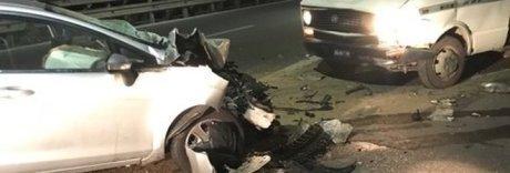 La rapina fallisce, camion-ariete lanciato sulla Statale: un ferito