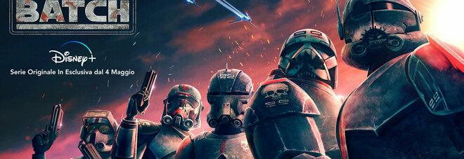 Su Disney+ arriva l'attesissima serie Star Wars: The Bad Batch