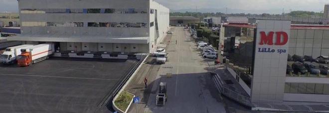 La sede di Md a Gricignano d'Aversa