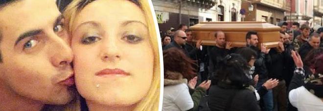 Laura Petrolito, durante i funerali a Siracusa molotov contro la casa del compagno