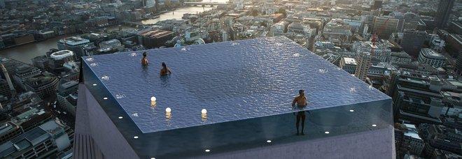 La piscina più bella al mondo? In cima a un grattacielo di Londra...