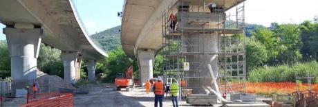 Toninelli: alcuni piloni dei viadotti dell'A24 sono in condizioni allarmanti