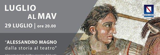Il Mav di Ercolano celebra le imprese di Alessandro Magno