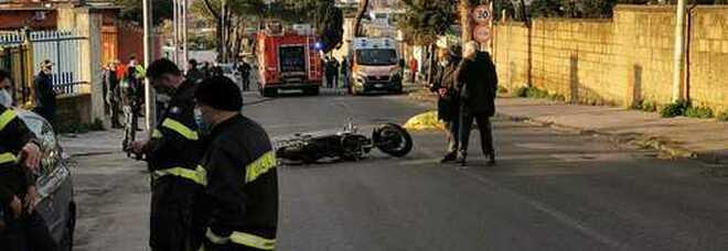 Incidente a Ercolano, cade dallo scooter e muore ma la dinamica resta un giallo