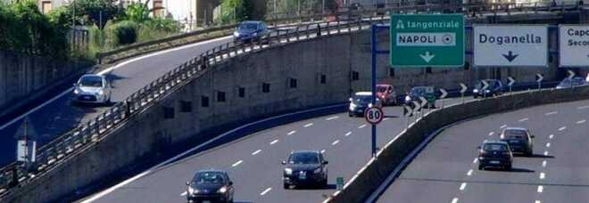 Tangenziale di Napoli: chiuso per quattro notti consecutive il tratto Doganella-Capodimonte