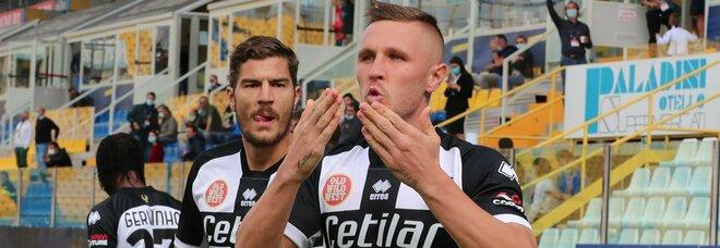 Parma, Kurtic regala i primi punti a Liverani e al presidente Krause