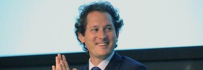 John Elkann, presidente di Stellantis