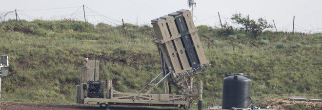 Sistema di difesa di Israele al confine con la Siria